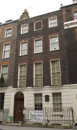 Benjamin Franklin's House, London, 2006.