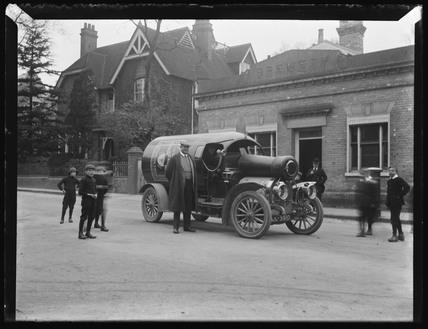 'Halstead Brewery Wagon', c 1900