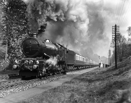'King Richard I', steam locomotive, 1938.