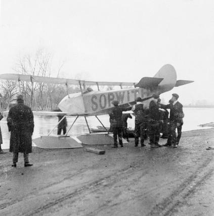 Sopwith 'Tabloid', early 1914.