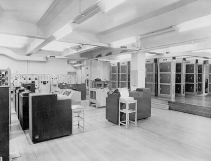 Leo I electronic mainframe computer, c 1960s.
