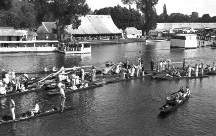 Henley Regatta, Henley-on-Thames, Oxfordshire, c 1930s.