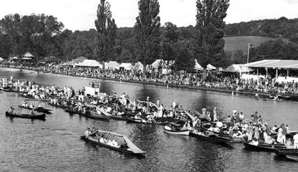 Henley Regatta, Henley-on-Thames, Oxfordshire, c 1930s.