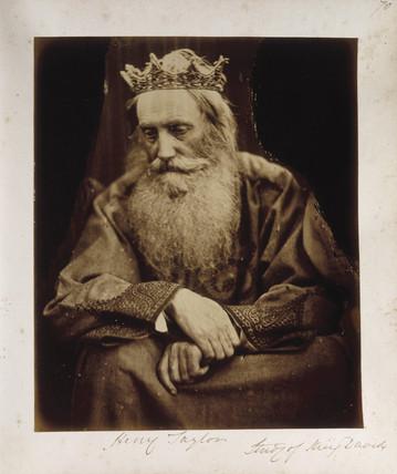 'King David', 1866.