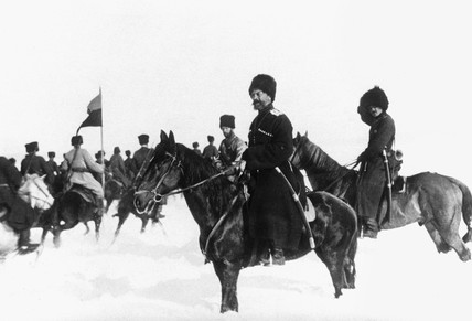 Russian troops, Eastern Front, c 1914-1918.