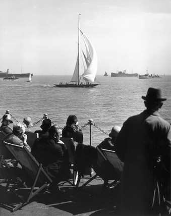 Yachting at Southend, Essex, 27 May 1931.