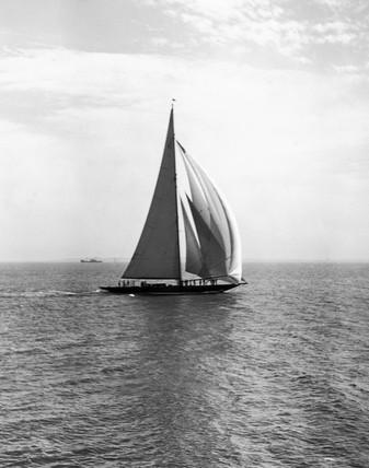 The yacht Shamrock V, Southend, Essex, 27 May 1931.