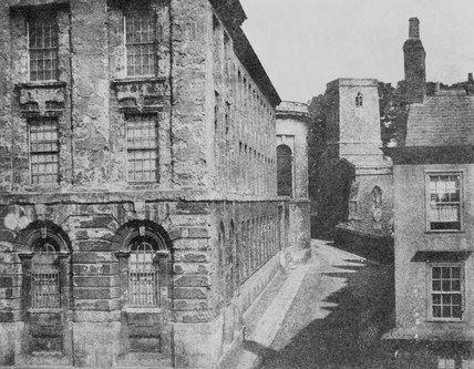 'Part of Queen's College, Oxford', 4 September 1843?