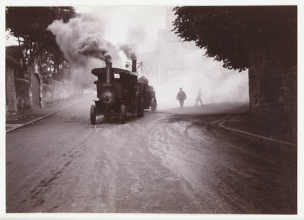 Steam lorries, c 1930.