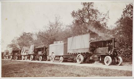 Steam lorries, 1914.