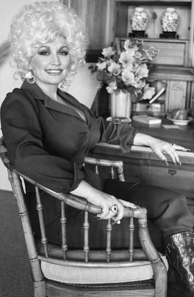 Dolly Parton, March 1983.