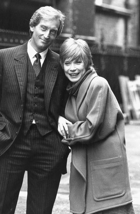 Shirley MacLaine and Charles Dance, November 1985.