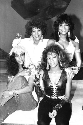 Sister Sledge, June 1985.