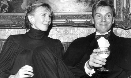 Sting and his wife Trudie Styler, February 1985.