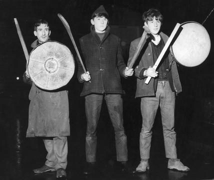 Vigilantes at the barricades, Northern Ireland, January 1969.