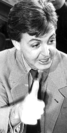 Paul McCartney, November 1984.
