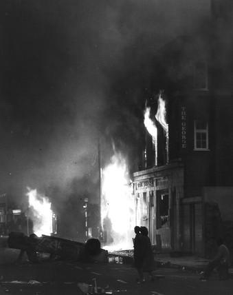 Brixton riots, London, April 1981.