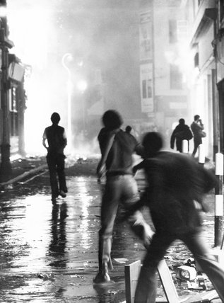 Brixton riots, London, April 1981.