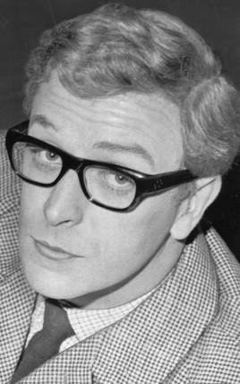 Michael Caine, British actor, 1960s.