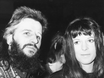 Ringo Starr and wife Maureen, March 1972.