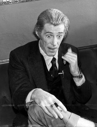 Peter O'Toole, November 1982.