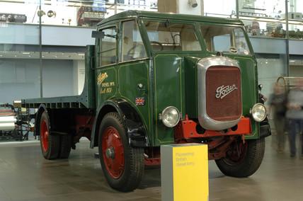 Foden F1 diesel lorry, 1931.