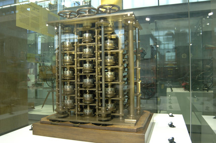 Babbage's Difference Engine No 1, 1832.