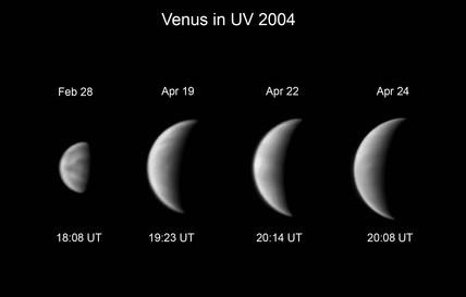 Clouds on Venus, 2004.