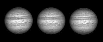 Jupiter in infrared light, 2005.
