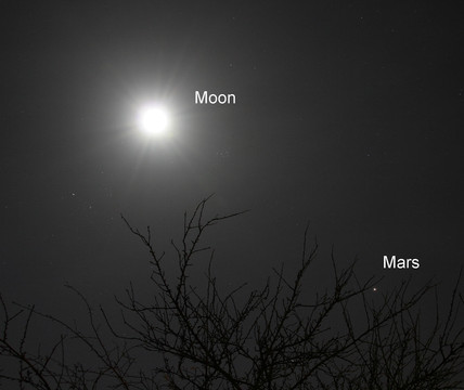 The Moon and Mars, 2005.