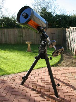 Celestron C14 telescope, 2005.