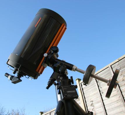 Celestron C14 telescope, c 2006.