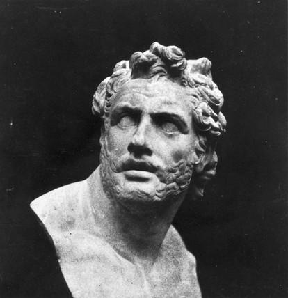 Bust of Patroclus, c 1841.