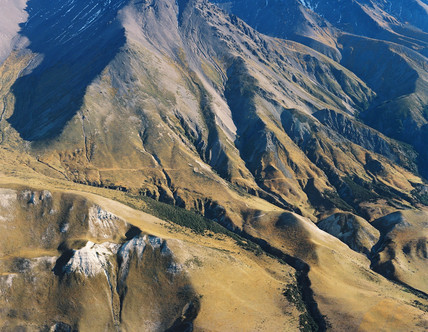 The Clarence Fault, New Zealand, 1994.