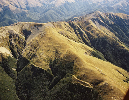 Puketeraki Range, New Zealand, 1986.