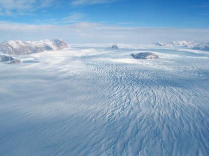 Reeves Glacier, Antarctica, 2006.