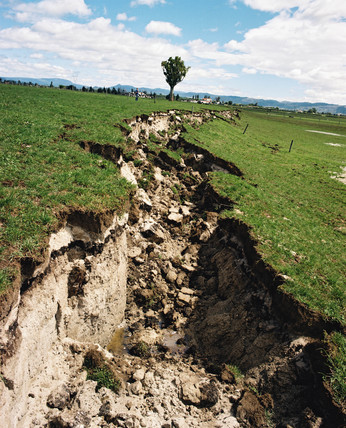 Edgecumbe earthquake, New Zealand, March 1987.