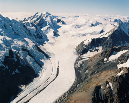 tasman glacier, New Zealand, 1989.