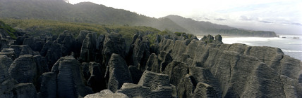 Pancake Rocks, Punakaiki, New Zealand, 1983.
