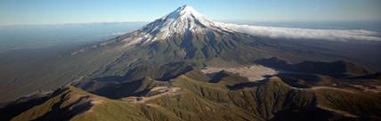 Mount Taranaki, Pouakai Range, New Zealand, 1986.