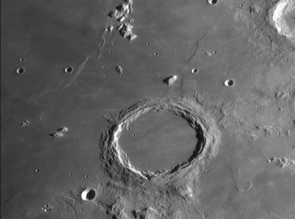 Archimedes Crater, 19 March 2005.