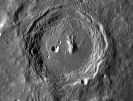 Arzachel Crater, 19 March 2006.