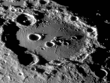 Clavius Crater, 19 March 2005.