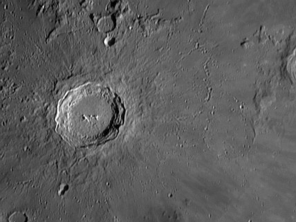 Copernicus Crater, 1 March 2004.
