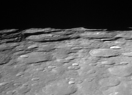 Demonax and Scott Craters, 16 November 2005.