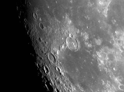 Gassendi Crater, 25 October 2004.