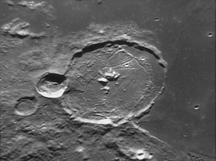 Gassendi Crater, 20 February 2005.