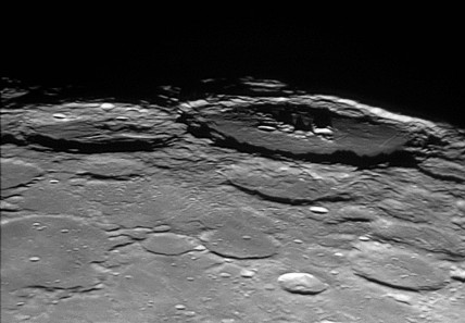 Humboldt and Hecataeus Craters, 16 November 2005.
