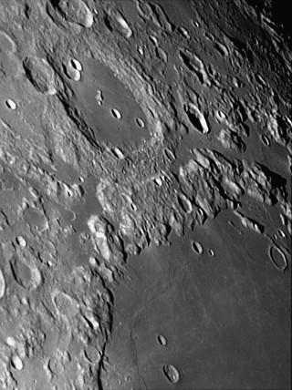 Mare Crisium, 17 November 2005.
