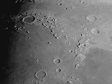 Mare Imbrium, 19 March 2005.